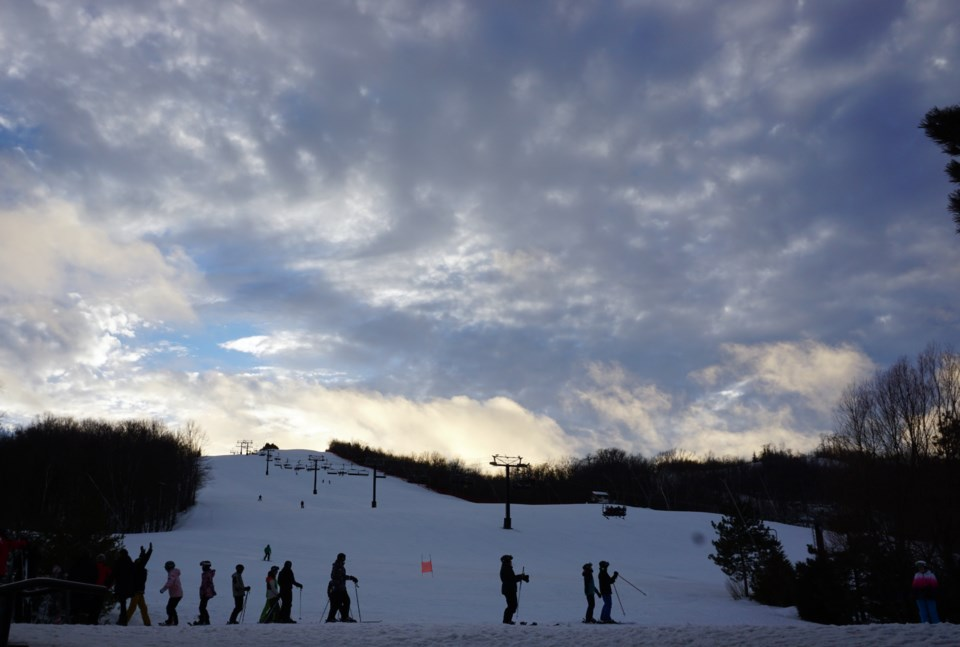 2020_03_20 Blue mountain ski hill_JG