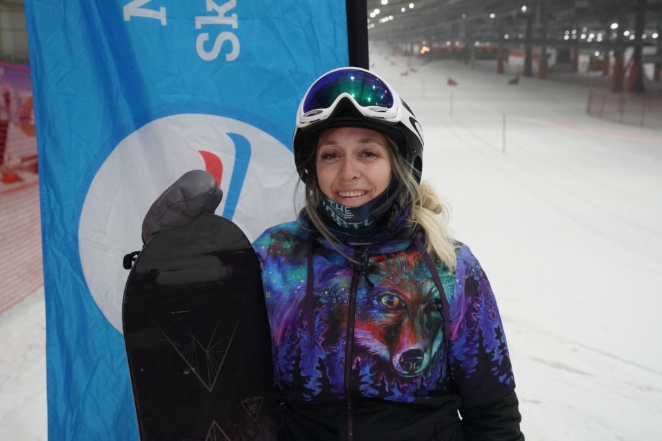 Sarah Anne Cormier has been snowboarding for over 15 years. Contributed photo