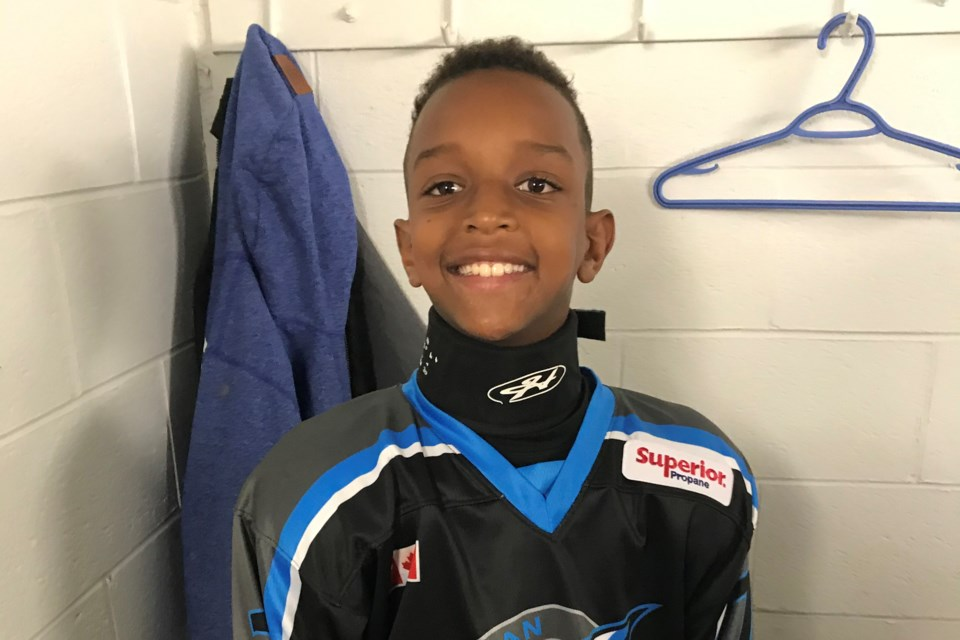Jax Brenneman, 10, wrote a letter to Gary Bettman with questions about when the NHL will get back to playing games and provided some ideas on how to do so safely. He got a response from Bettman himself. Contributed photo
