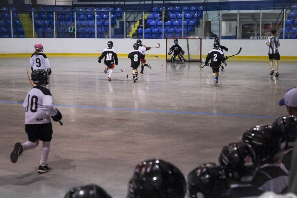 Collingwood Ball Hockey has teams from Tyke to Men's adult. Contributed photo