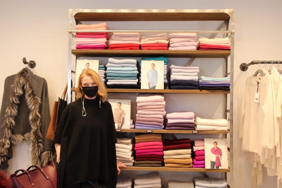 Christine Peters, founder of Lemonwood Luxury Inc. Maddie Johnson for CollingwoodToday
