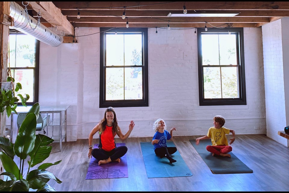 Morgan D'Aloisio created Open Minds Youth to help children learn to incorporate movement, meditation and mindfulness into their lives. Contributed photo