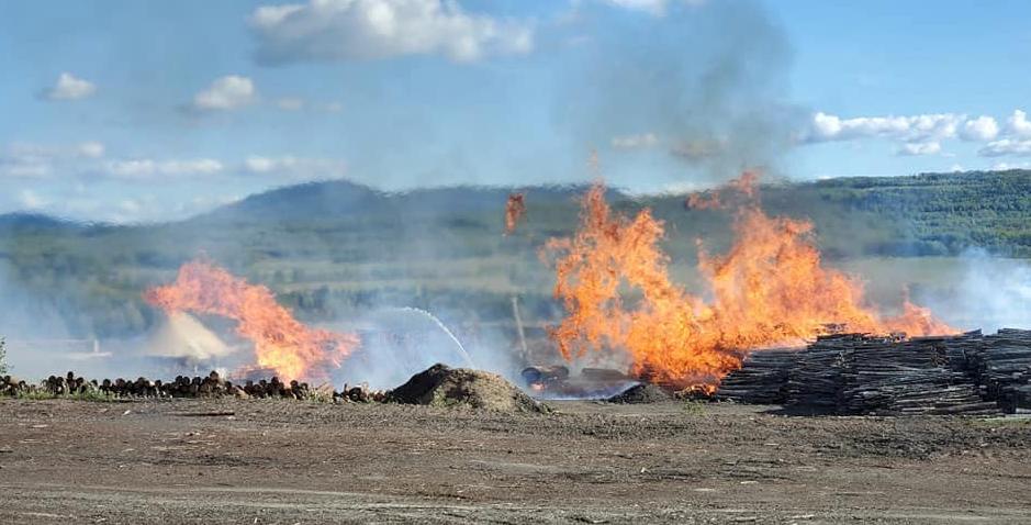 Chetwynd fire