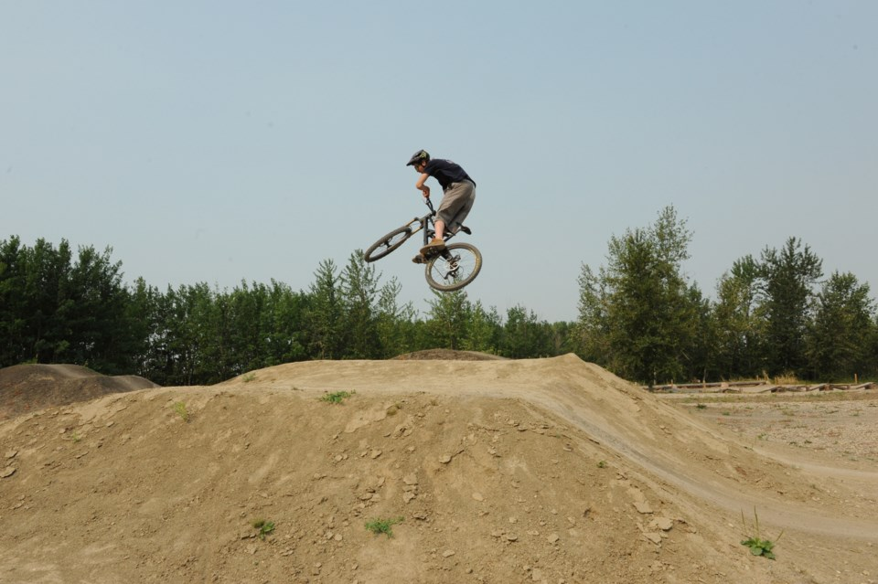 Grande Prairie AB Nitehawk bike skills dirt jump 2 JDerksen
