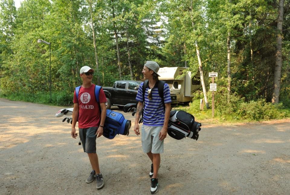 Grande Prairie Nitehawk camper 2 golf JDerksen