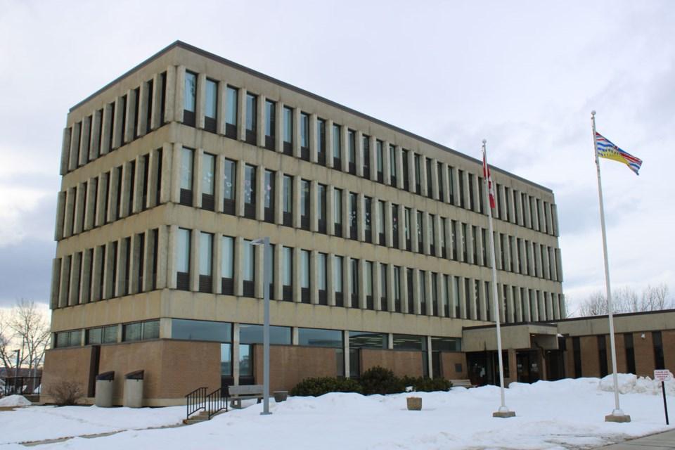 Dawson Creek Law Courts shot 2 - March 3