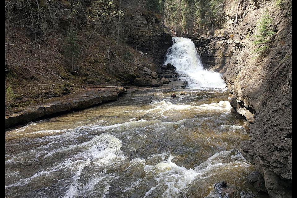 Quality Falls near Tumbler Ridge.