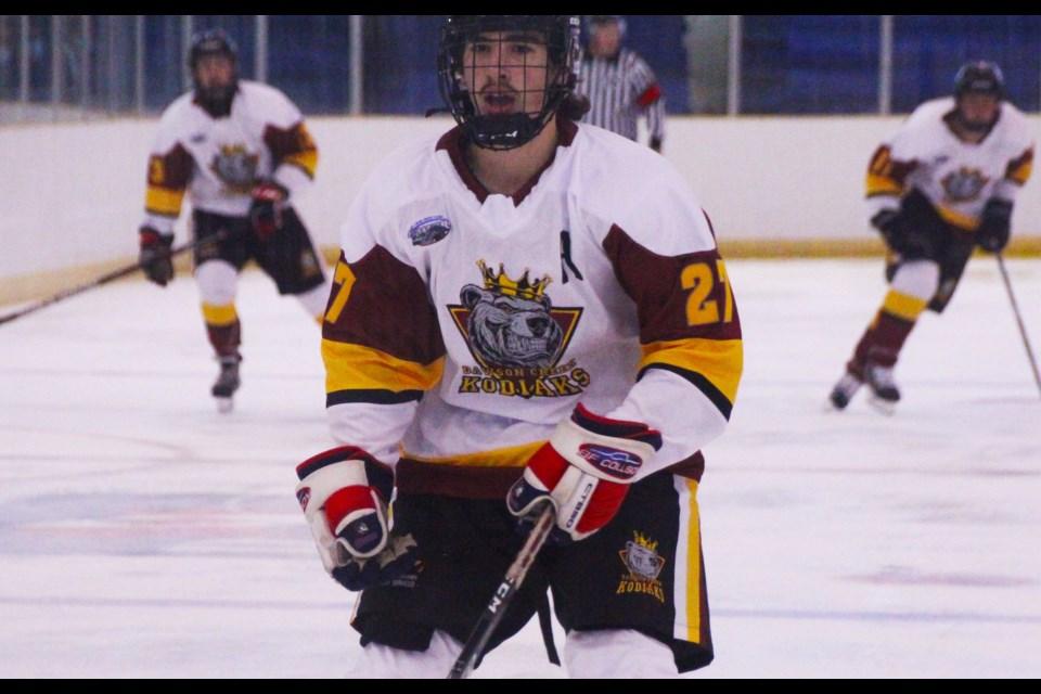 The Junior Canucks have rebranded as the Dawson Creek Kodiaks.