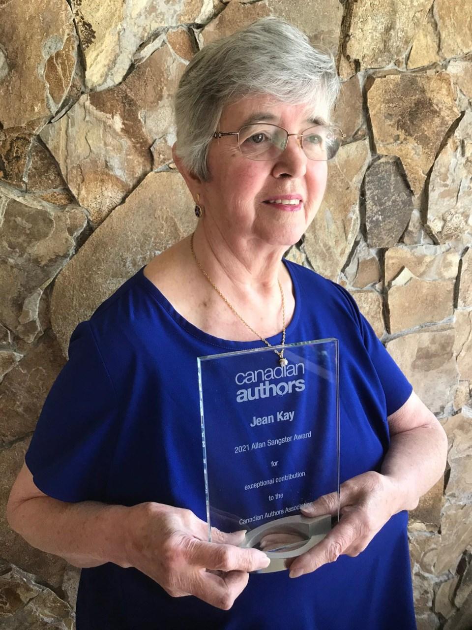 Alan Sangster Award Apr 2021