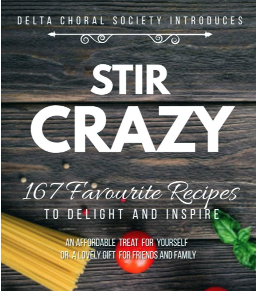 Delta Choral cook book