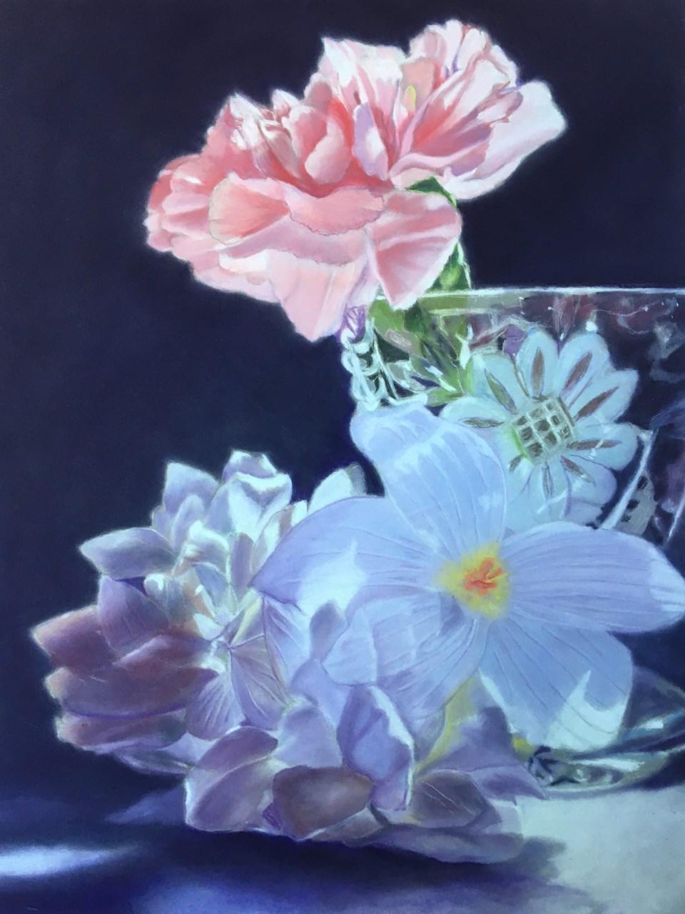 Menchu Abel's flower and vase