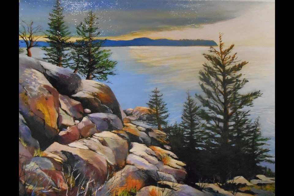 MORNING AT LIGHTHOUSE PARK by Nancy Dean