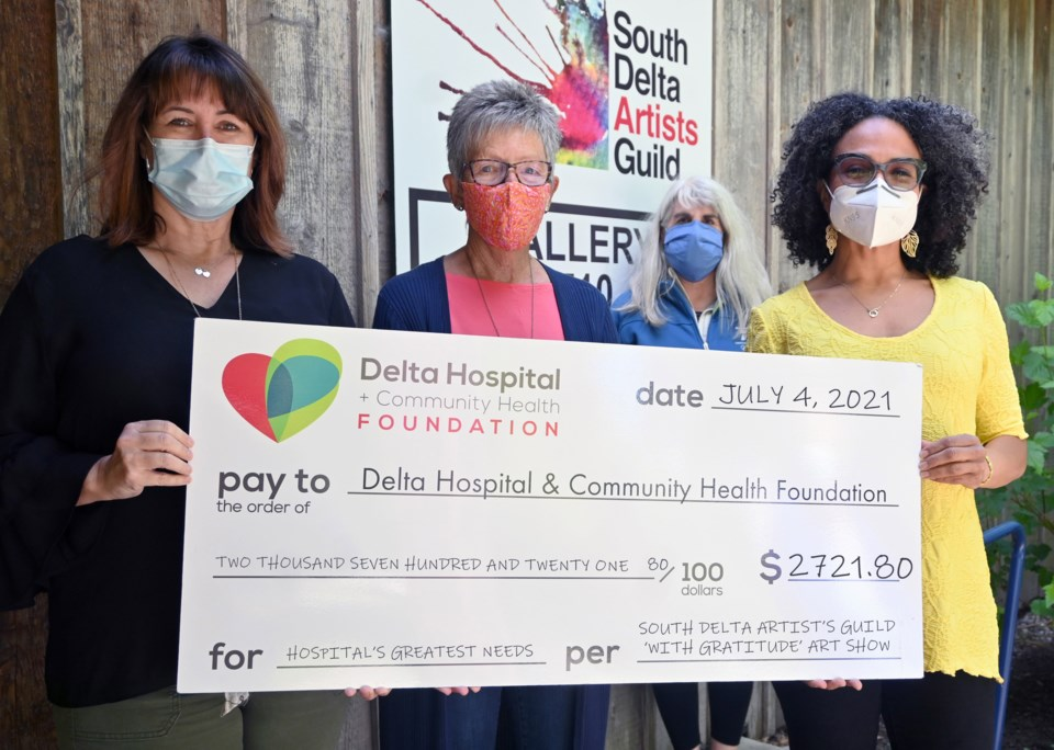 SD Artists Guild cheque