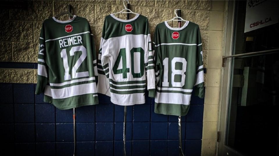 Delta Hockey academy jerseys