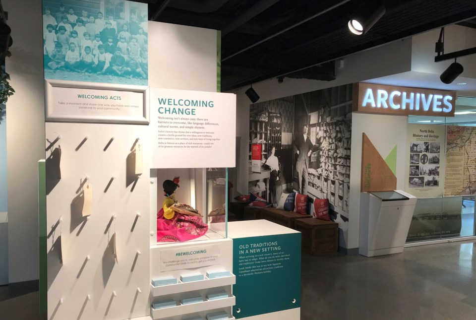new delta museum douglas j husband discovery centre