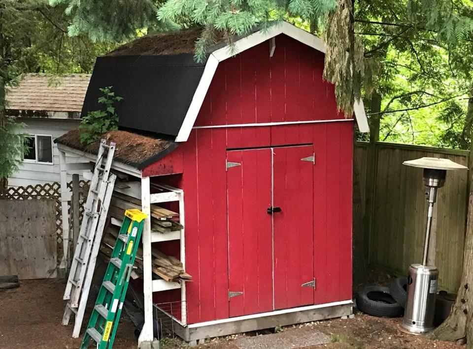 sheds in Delta