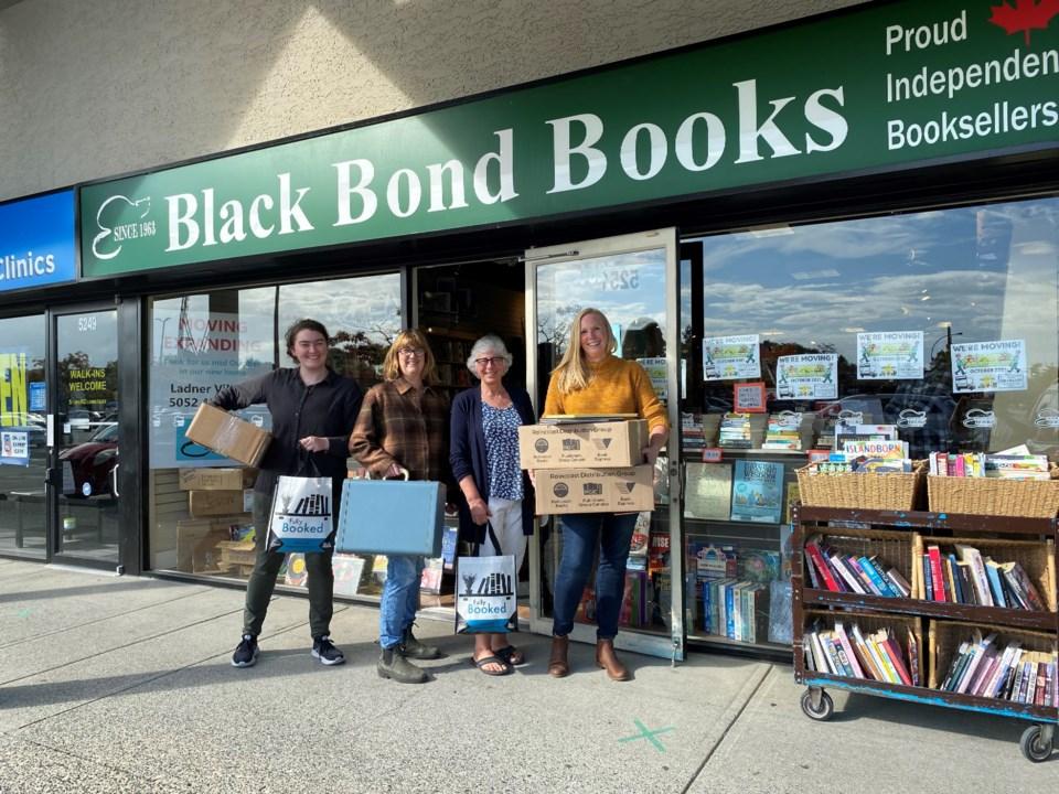 Black Bond Books staff