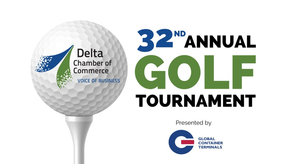Chamber golf tournament logo
