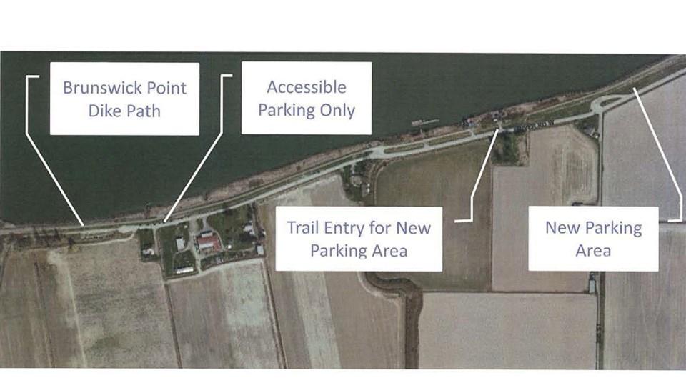 brunsiwck point parking proposal delta, bc