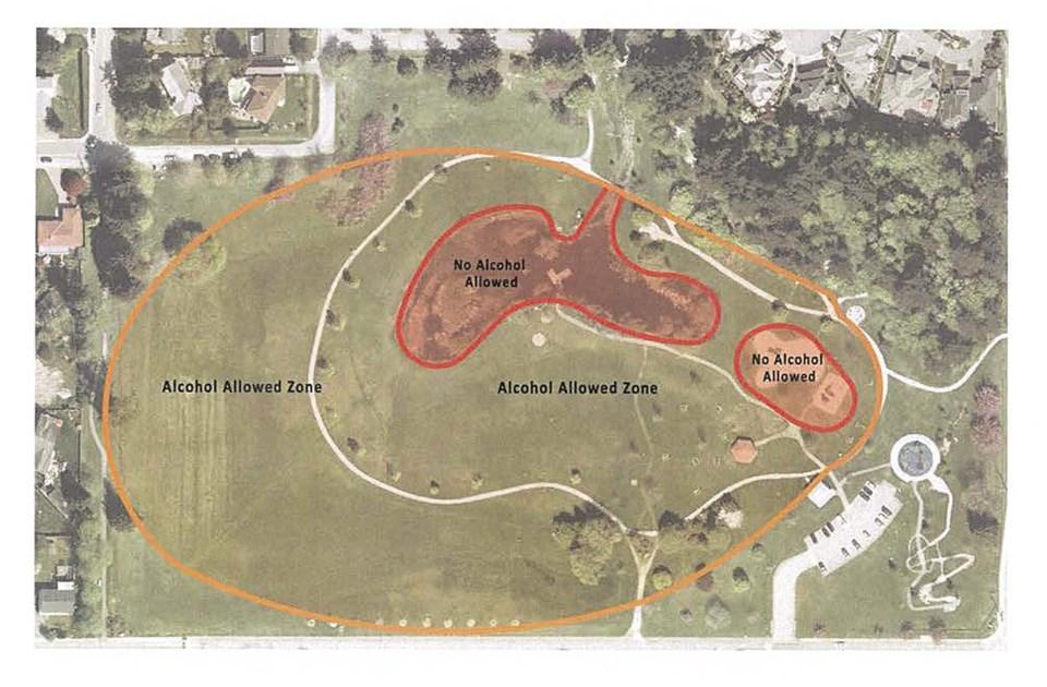 delta, bc parks drinking diefenbaker park