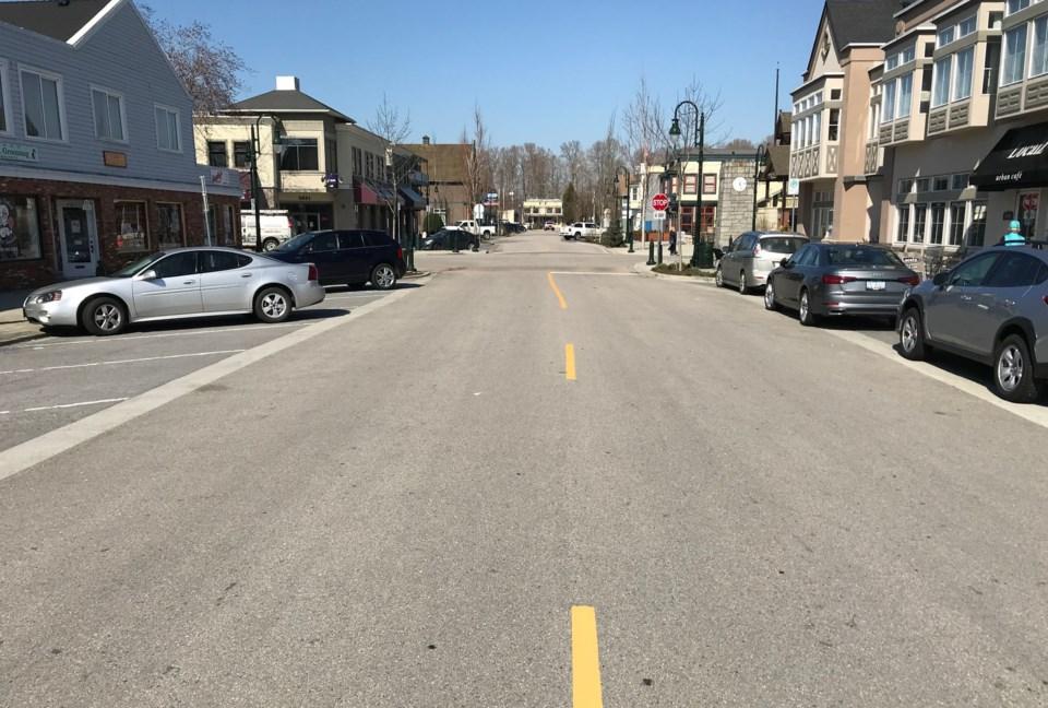 ladner village street