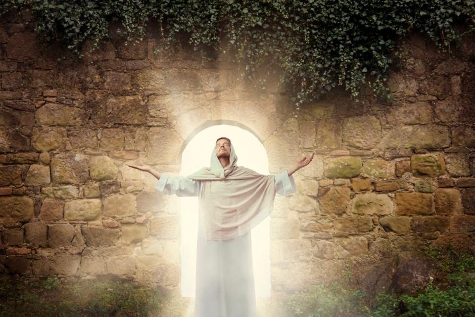 Gathering at Christ's door