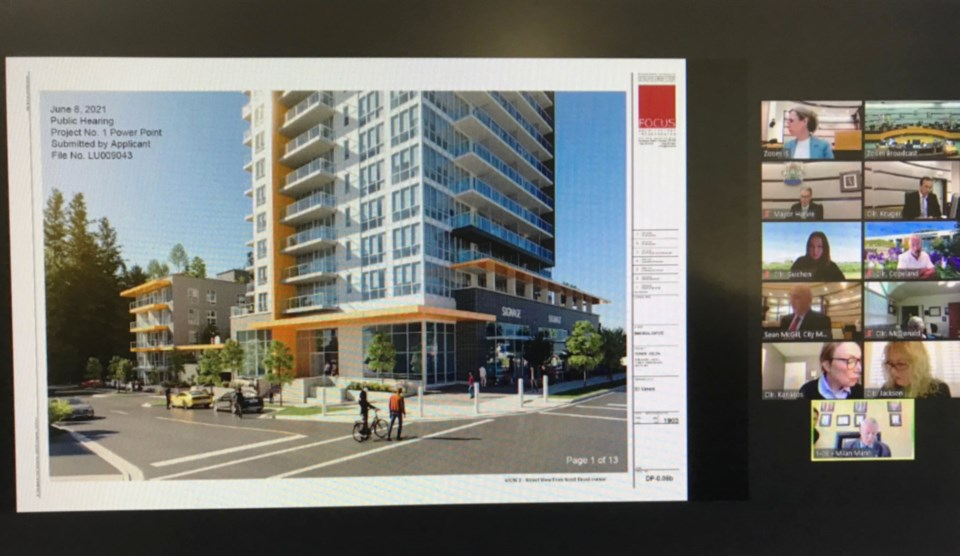 93 ave high-rise public hearing