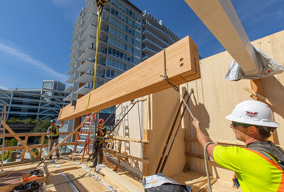 delta, bc mass timber buildings