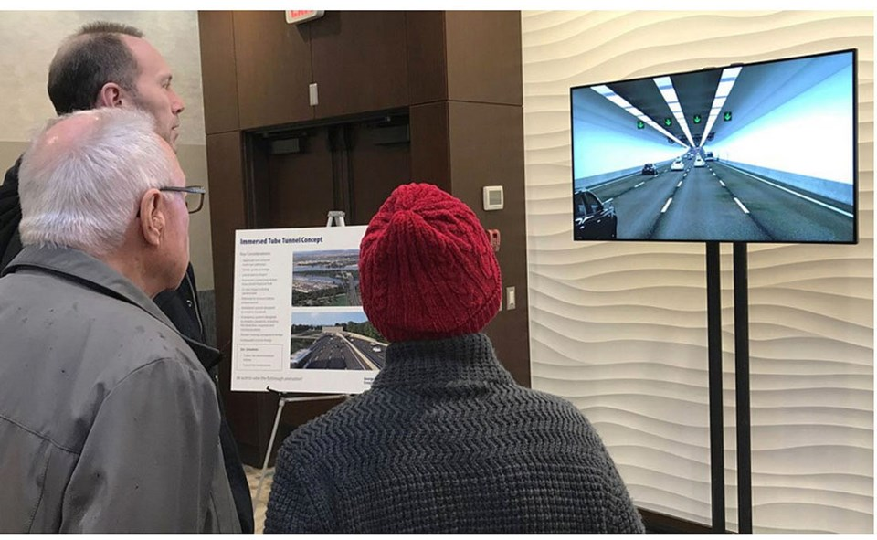 george massey tunnel replacement 2020 open house