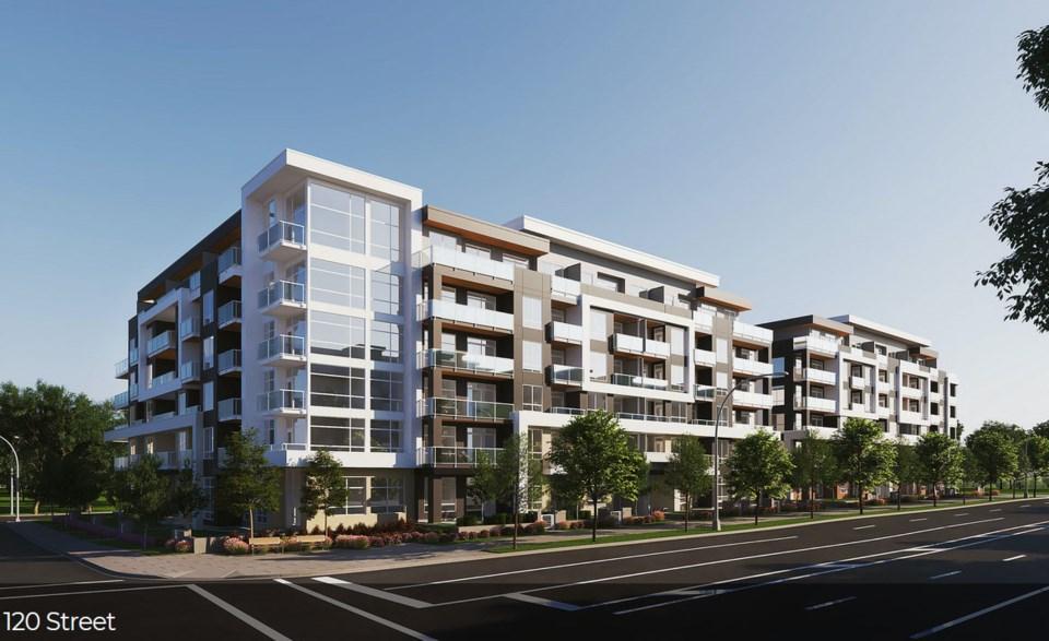 new 75A Avenue & Scott Road housing proposal, North Delta