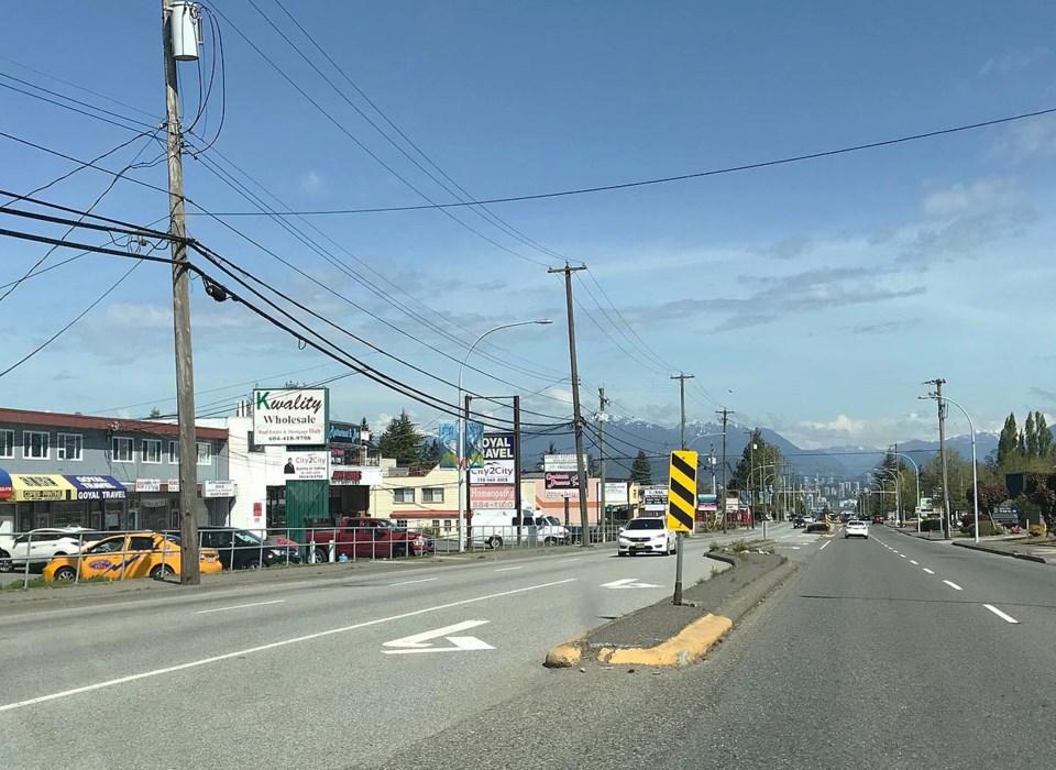 scott road in the city of delta