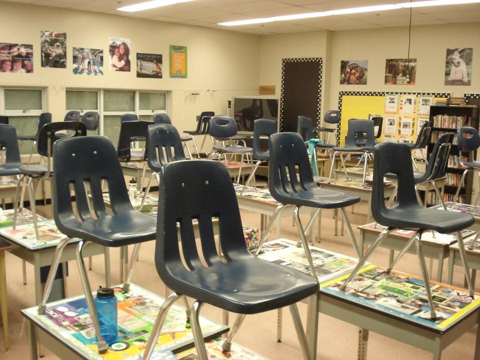 delta school district classroom