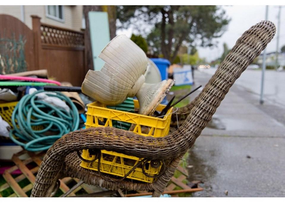 delta, bc spring clean-up pick-up program