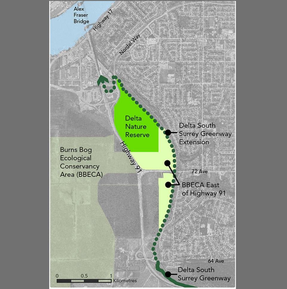 delta greenway plan - metro vancouver photo