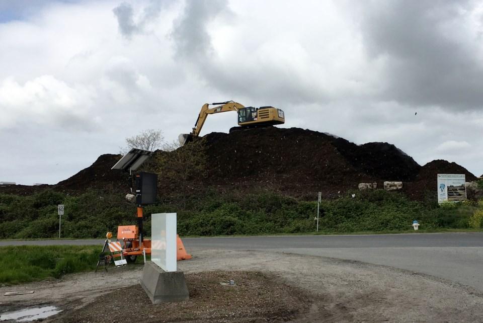 GFL composting in East Ladner