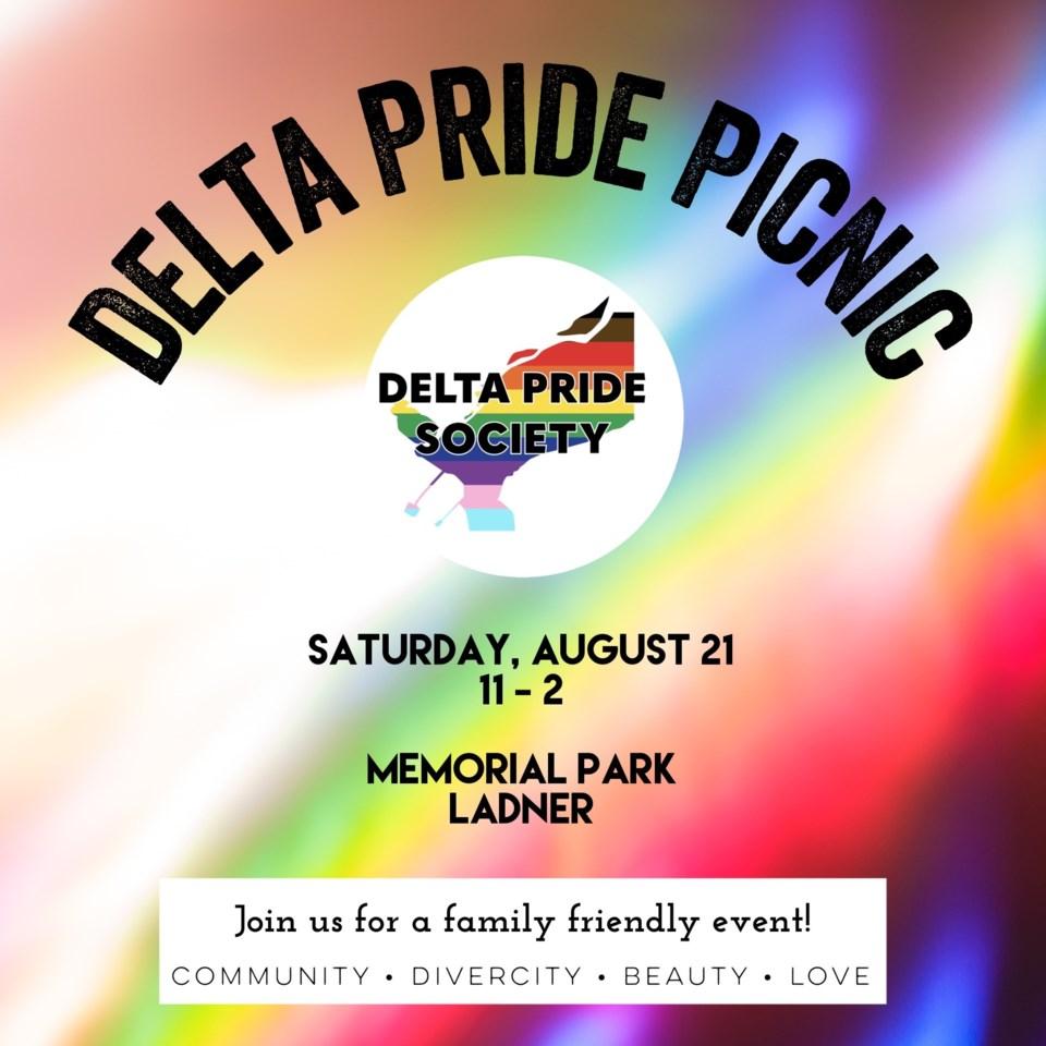 Delta Pride Picnic logo