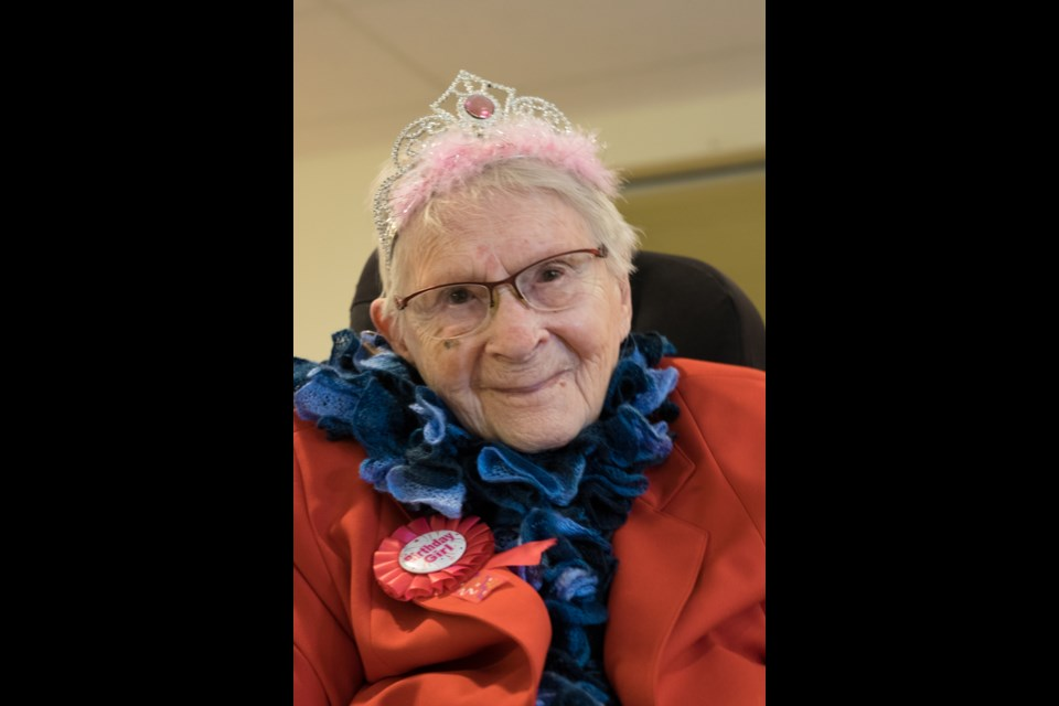 Augustine House resident Marjorie Francis celebrated her 102nd birthday on March 10.