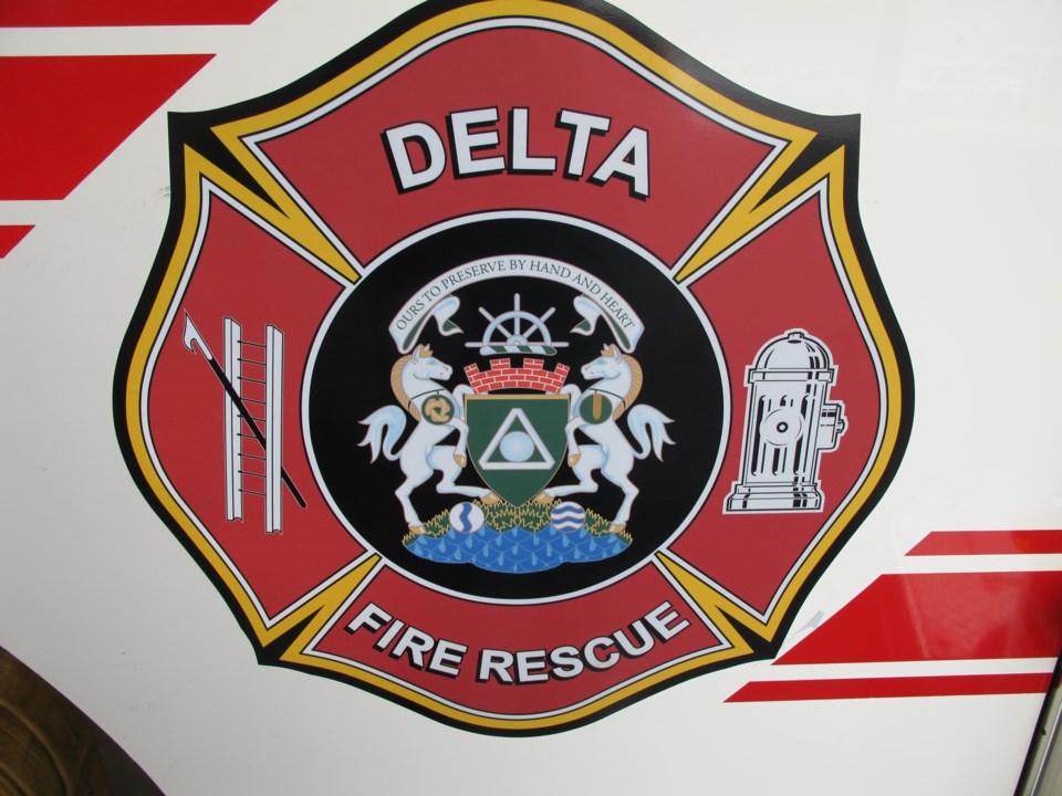 Delta fire logo
