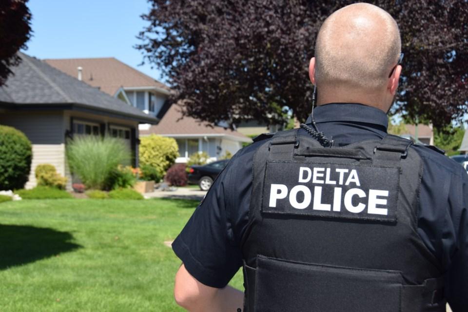 Delta police officer
