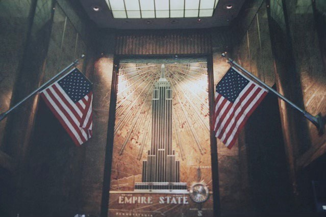 Memorial at Empire State Building