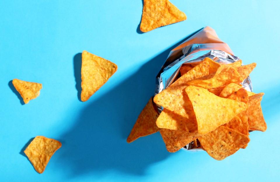 Doritos chip bag