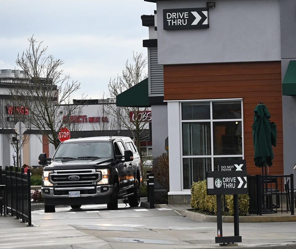 Starbucks drive thru 2