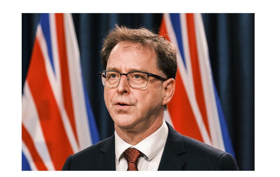 BC Health Minister Adrain Dix speaks Delta Hospice