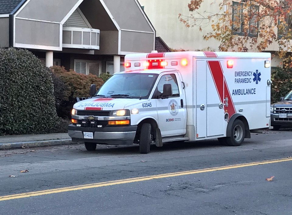 delta bc ambulance