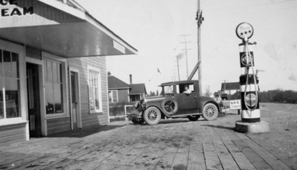 butler's store in east ladner 1930s