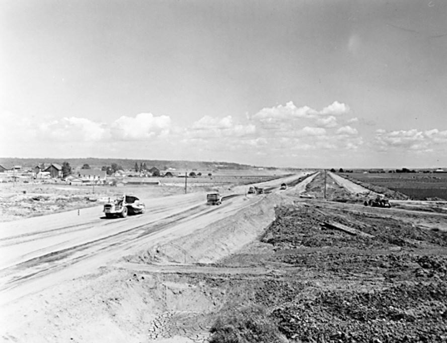 delta highway 99 construction 1960