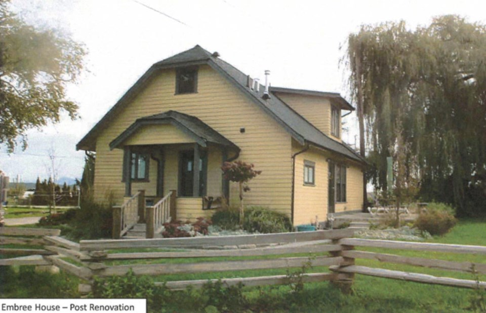 embree house heritage home in delta, bc