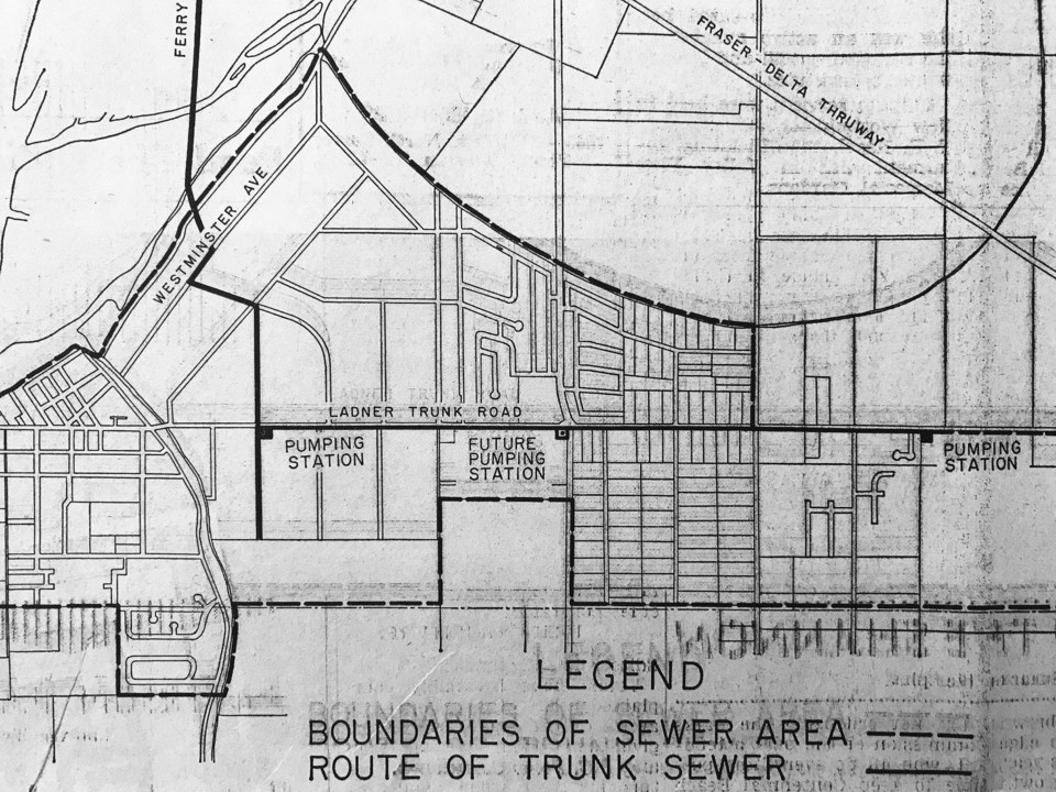 failed ladner sewer bylaw 1960