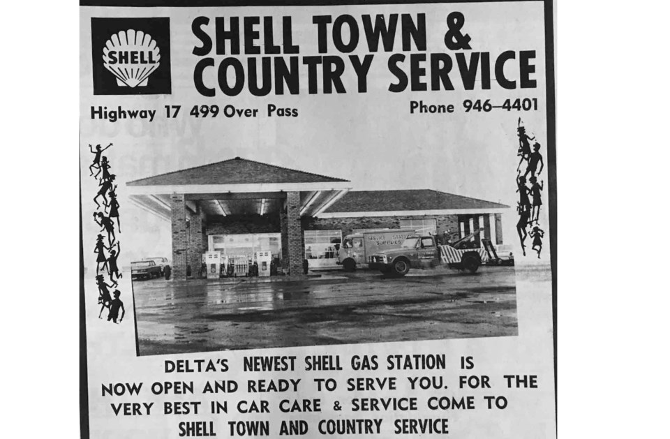 former shell gas station at highways 17a and 99 junction