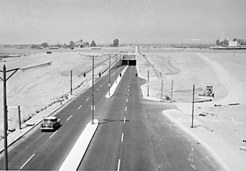 masset tunnel 1959